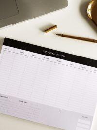 executive weekly deskpad